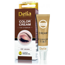 Color cream for eyebrow Delia, Augenbrauenfarbe permanent