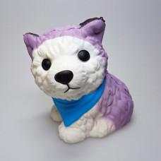 Squishy Hund mit Halstuch